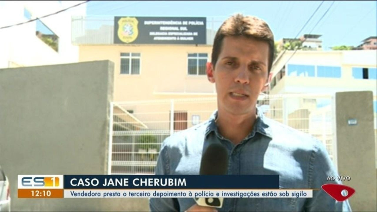 Jane Cherubim presta o terceiro depoimento à polícia e investigações estão sob sigilo