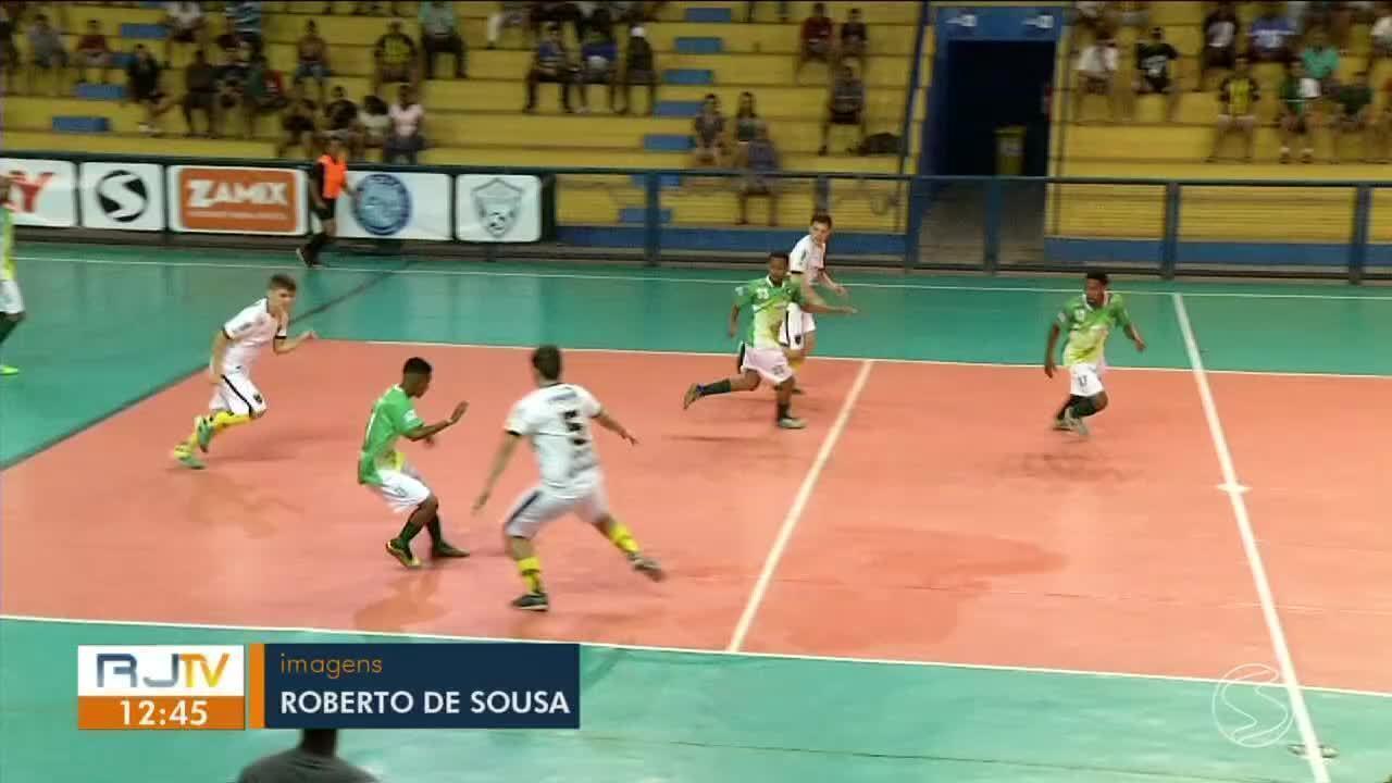 Volta Redonda e Resende empatam em 3 a 3 pela Copa Rio Sul de Futsal