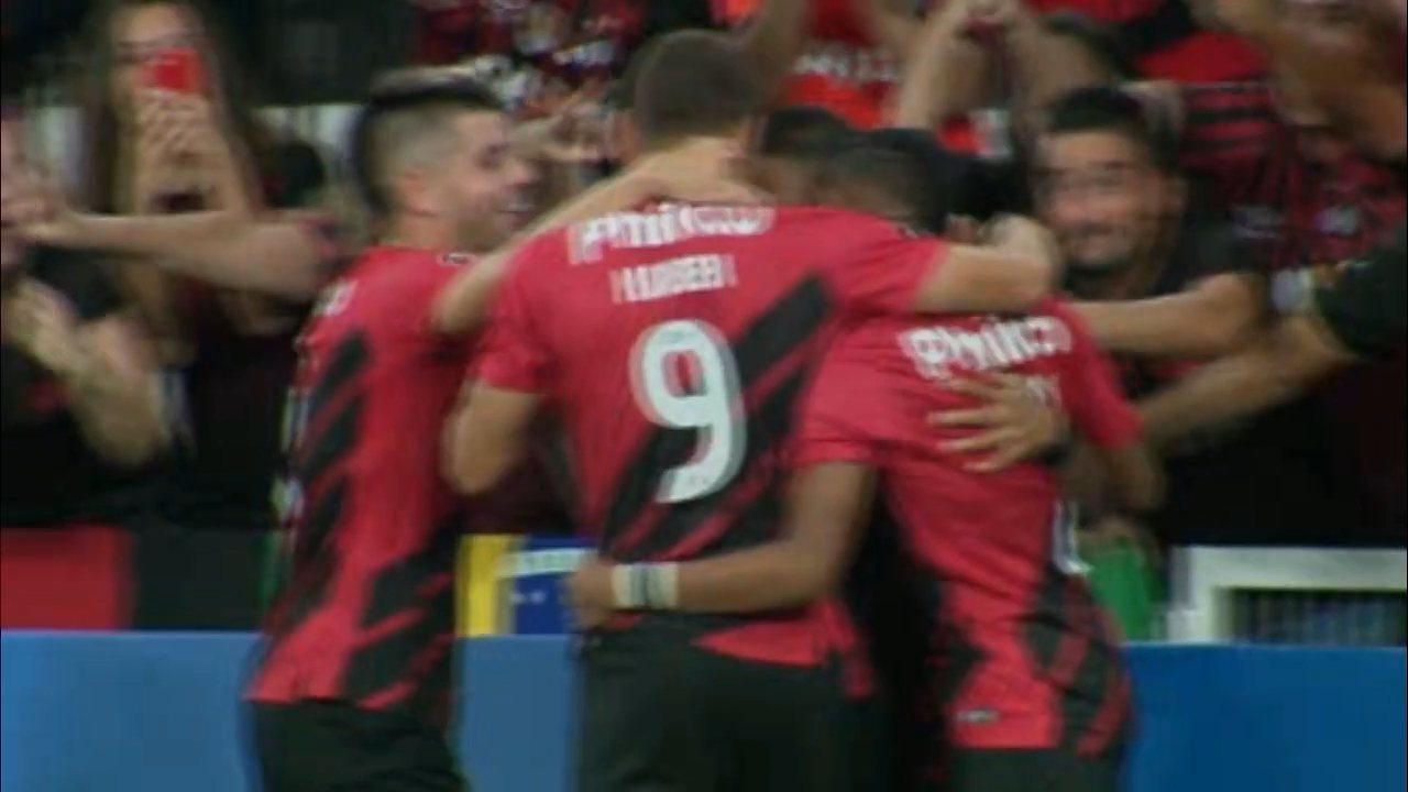 Veja os gols de Athletico 4x0 Jorge Wilstermann, pela segunda rodada da Libertadores