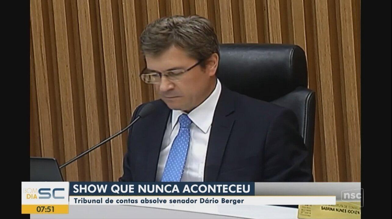Senador Dário Berger é absolvido no caso de Andrea Bocelli
