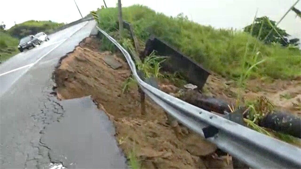 Rio-Santos tem interdição por três madrugadas para manutenção de tubulação em São Sebastião