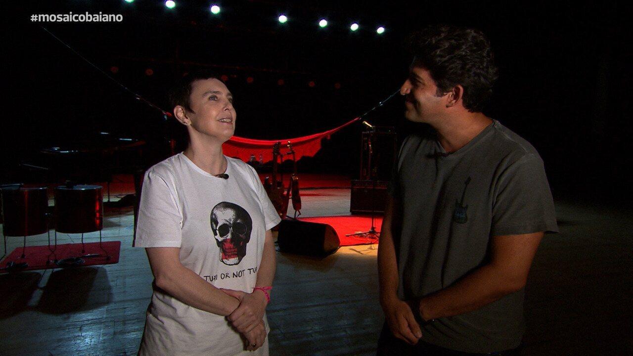 Adriana Calcanhotto fala sobre criação de seu novo show, 'A Mulher do Pau Brasil'