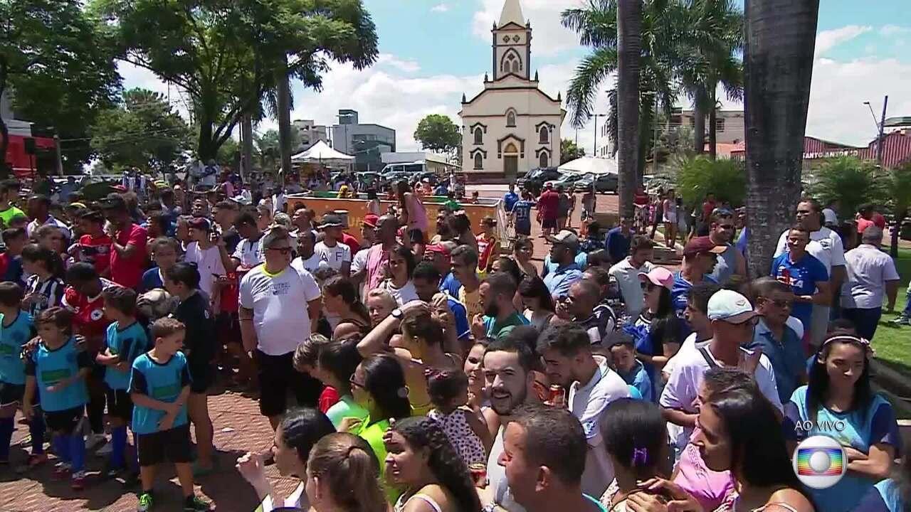 Globo Esporte/MG deste sábado, dia 16 de março de 2019, primeiro bloco
