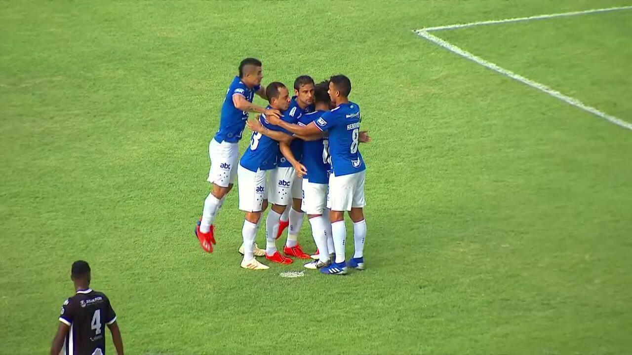 Os gols de Tupi 0 x 3 Cruzeiro pela 10ª rodada do Campeonato Mineiro