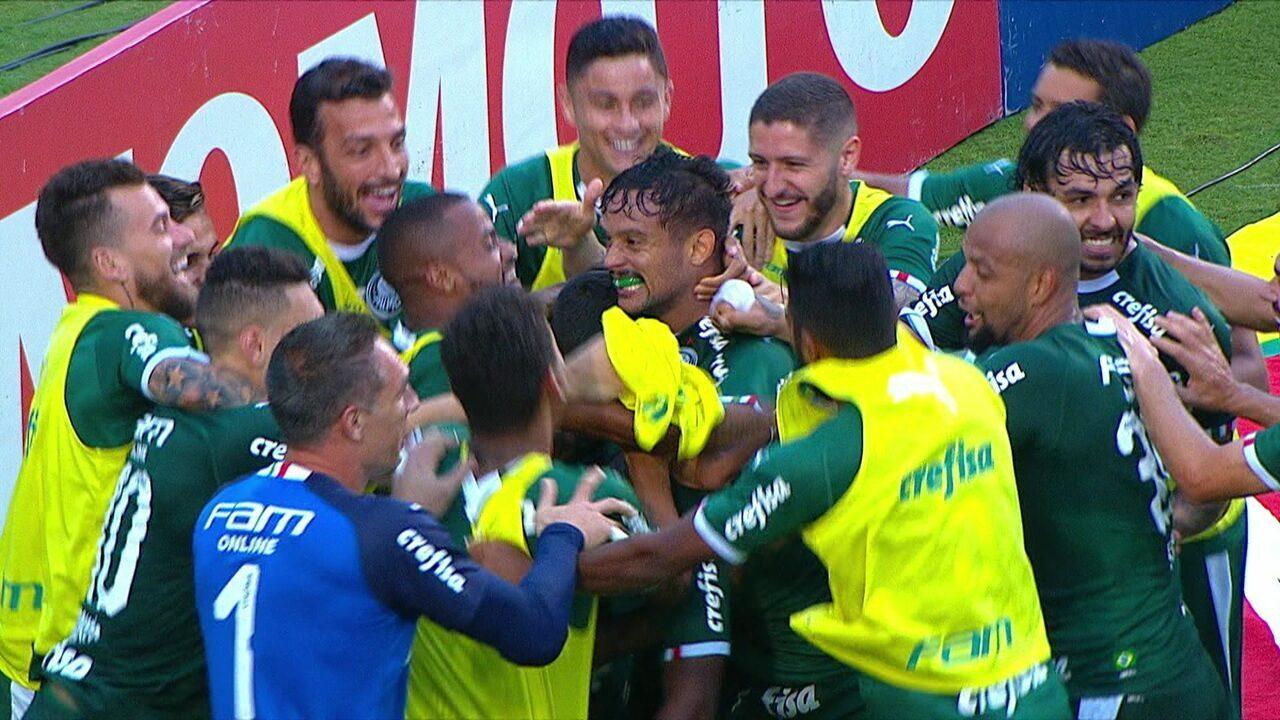 Carlos Eduardo marca golaço e dá vitória ao Palmeiras sobre o São Paulo