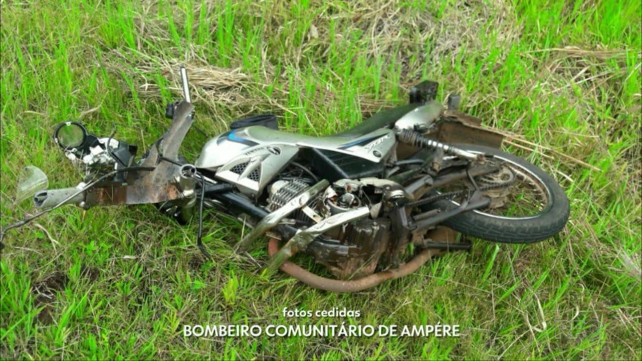 Jovem de 27 anos morre em acidente em Ampére