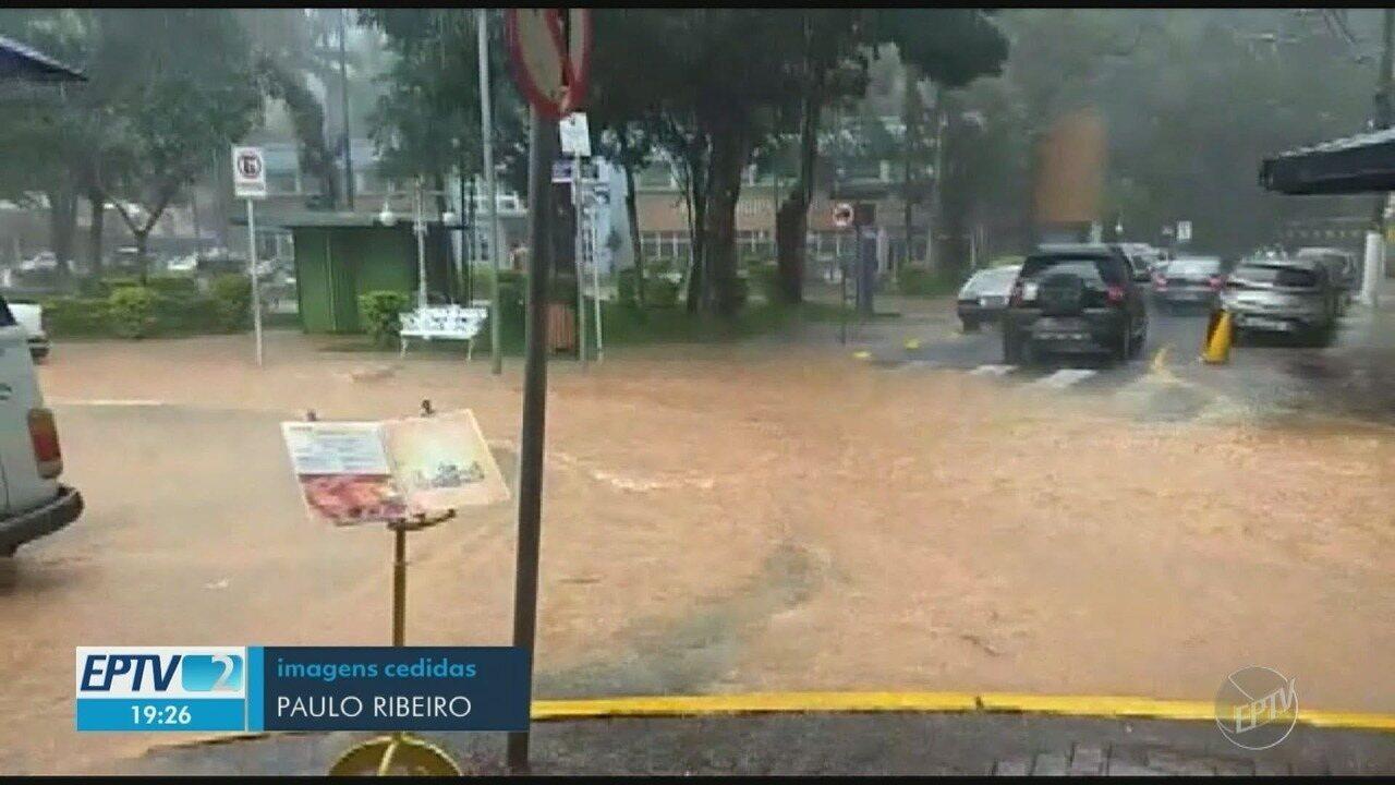 Cidades da região entram em estado de atenção após chuva deste sábado