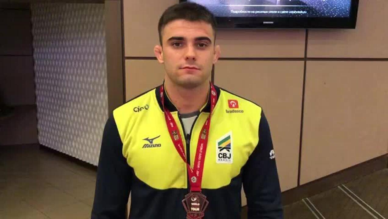 Rafael Macedo conquista primeira medalha em Grand Slam de judô