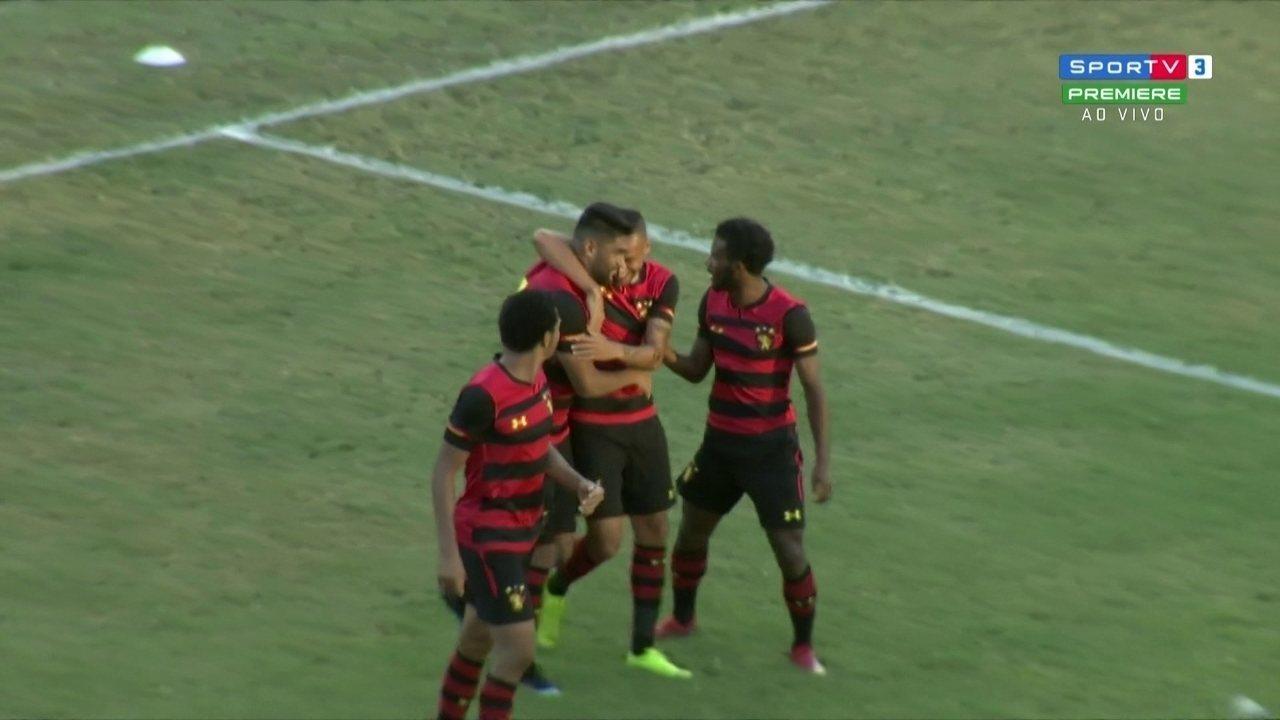 O gol marcado por Luan sobre o Central