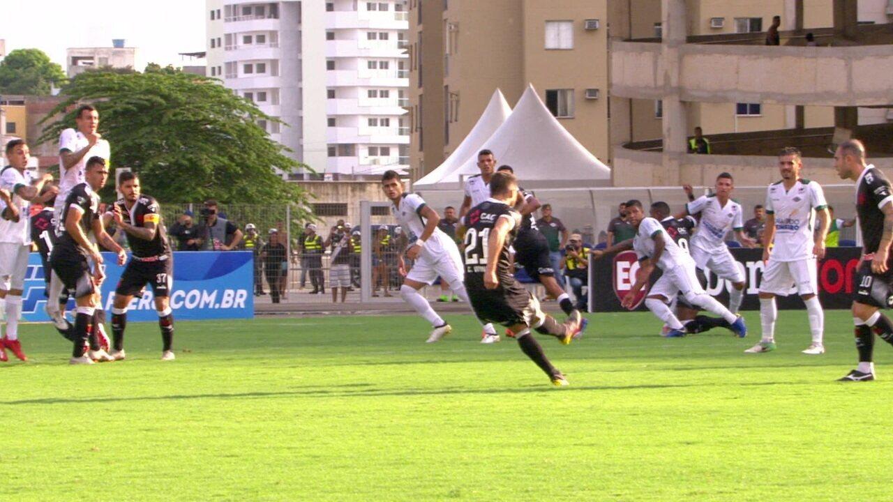 Melhores momentos de Cabofriense 2 x 0 Vasco pela 4ª rodada da Taça Rio