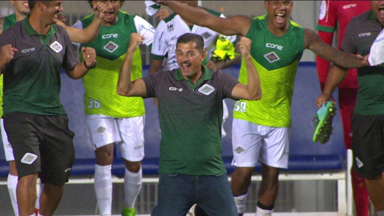 Vasco perde para a Cabofriense e dá adeus a invencibilidade na temporada