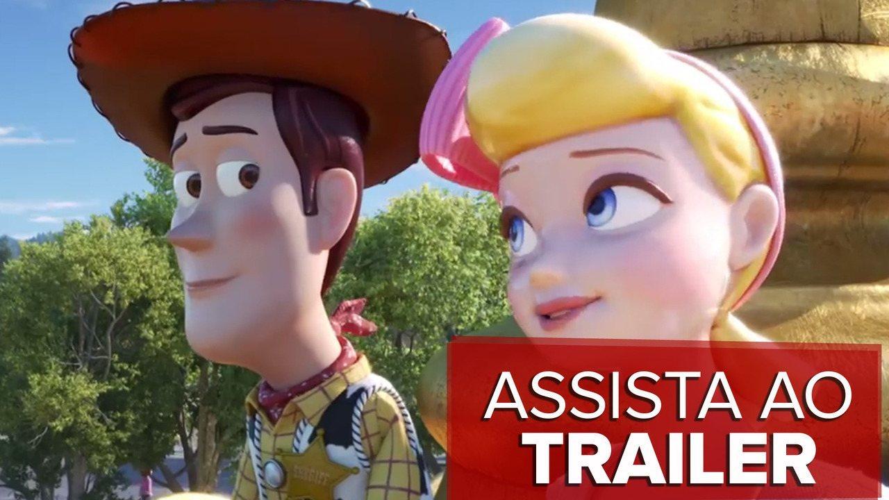 Assista ao trailer de 'Toy Story 4'