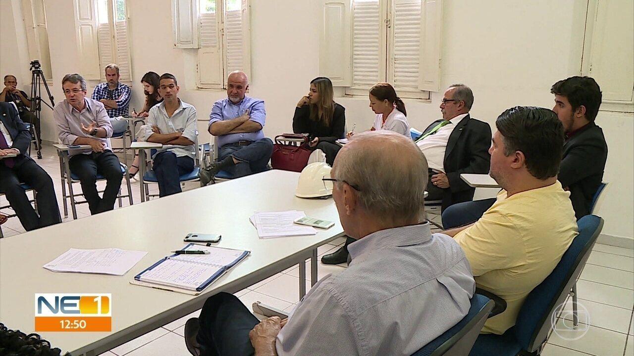 Comissão tenta encontrar soluções para o Edifício Holiday