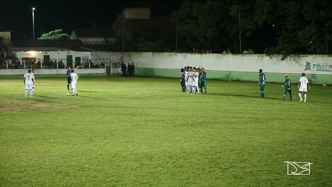 Com gol no início, Sampaio vence o Pinheiro e avança no Maranhense