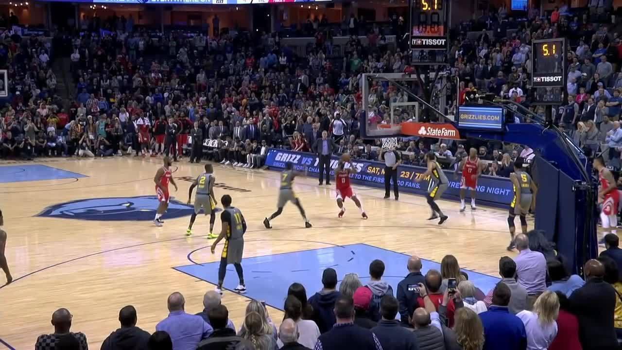 Melhores momentos: Memphis Grizzlies 126 x 125 Houston Rockets pela NBA