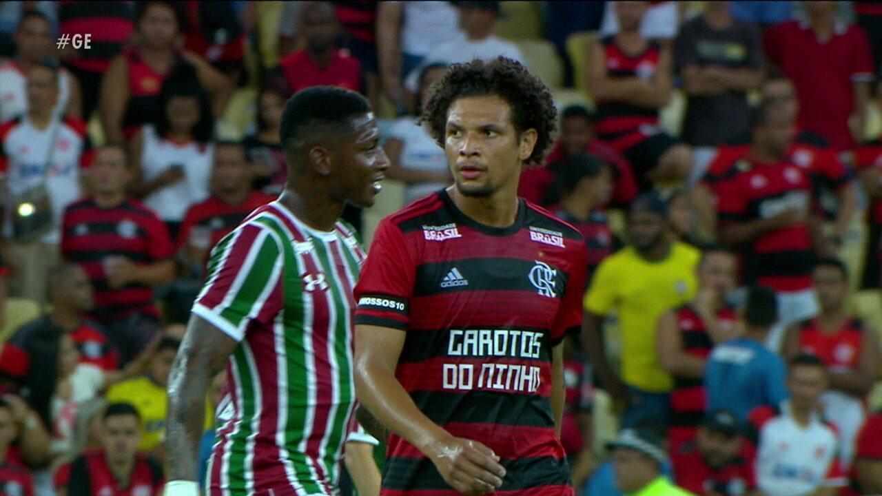 Globo Esporte: Cheio de moral com Abel, Arão fala do bom momento no Flamengo
