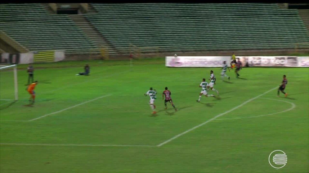 River-PI se mantém na liderança após empate com Altos