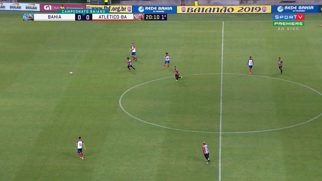 Confira os melhores momentos de Bahia 3 x 0 Atlético de Alagoinhas