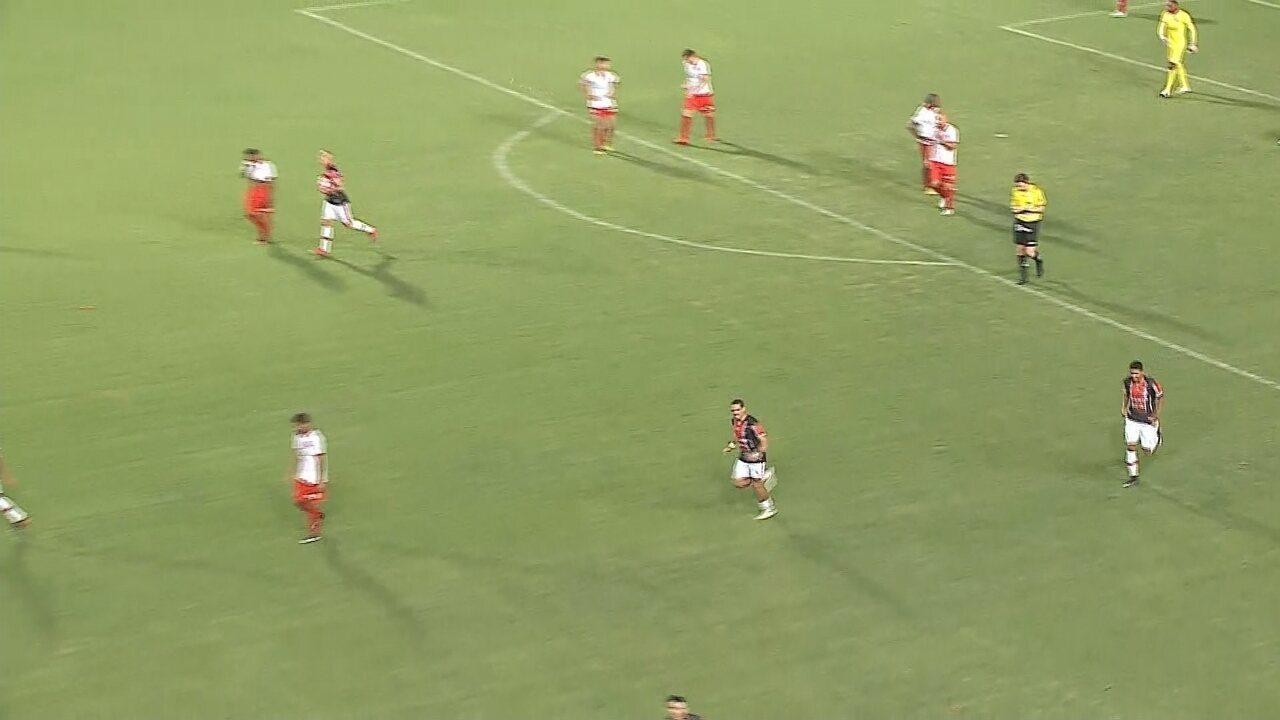 Os gols de Joinville 1 x 1 Hercílio Luz