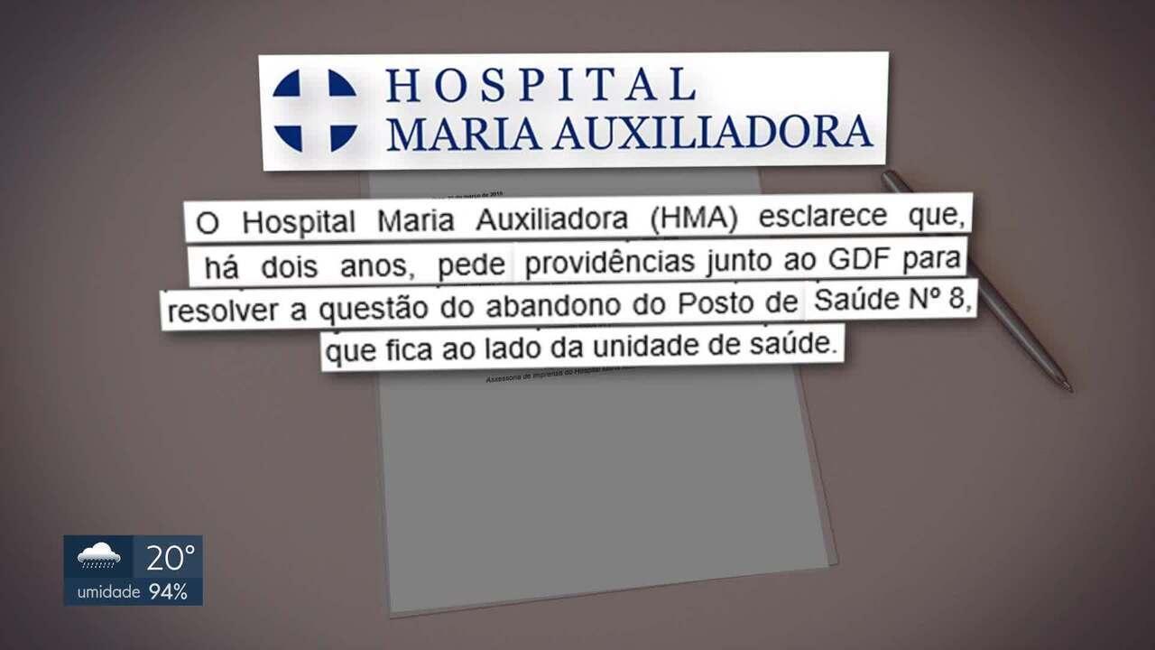 Ratos invadem radiologia de hospital particular do Gama