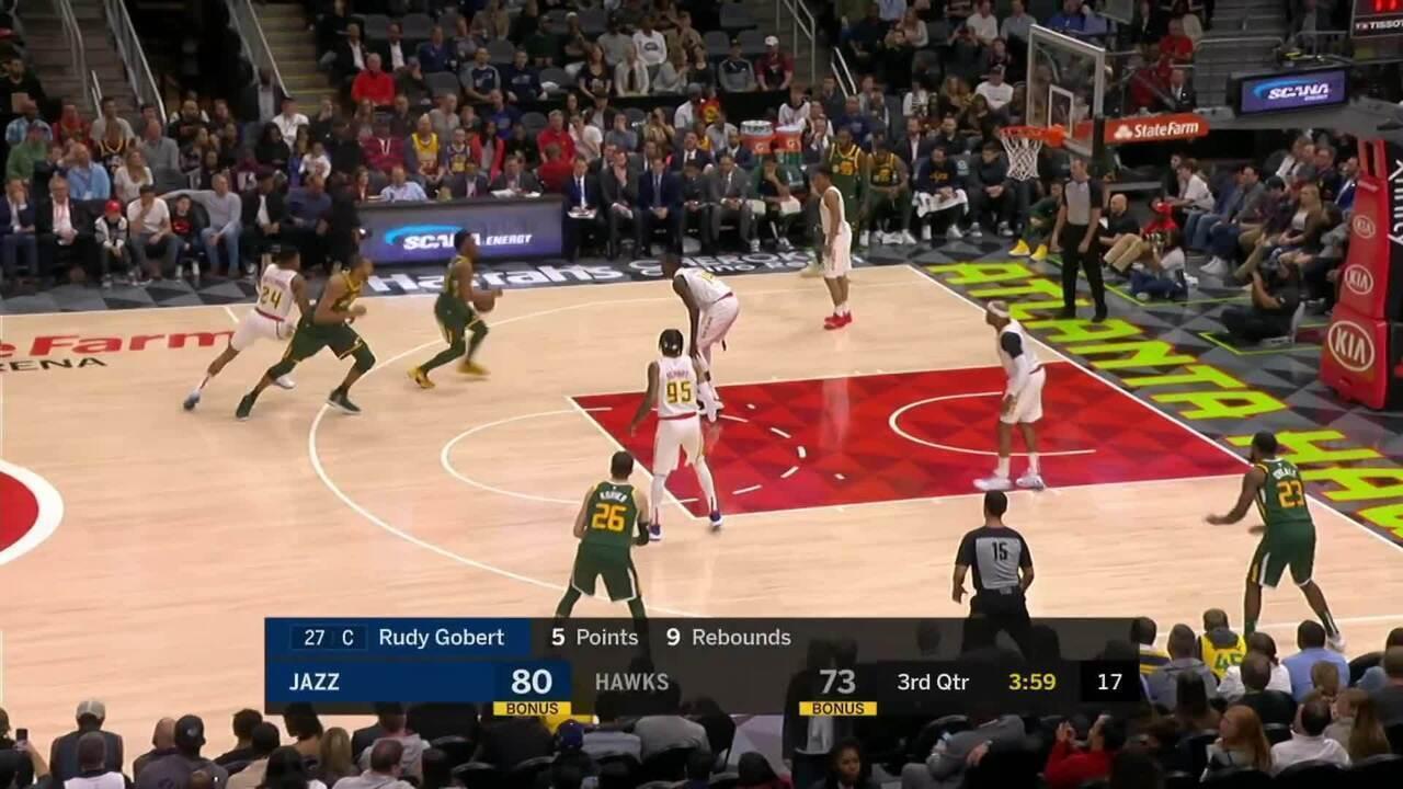 Melhores momentos: Atlanta Hawks 117 x 114 Utah Jazz pela NBA