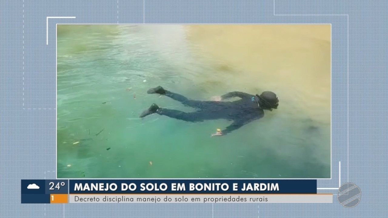 Governo estadual publica decreto que estabelece ações de manejo do solo em Bonito e Jardim