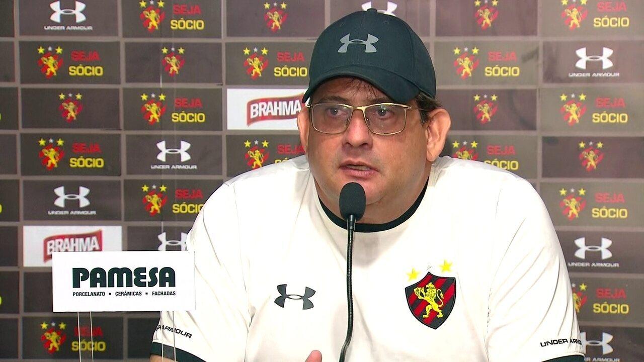 Guto Ferreira indica outras lideranças no grupo do Sport