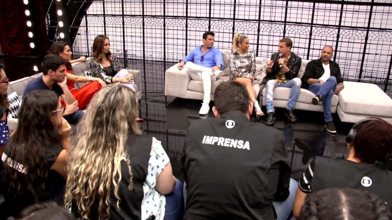 Integrantes do 'Show dos Famosos 2019' falam de expectativa para estreia
