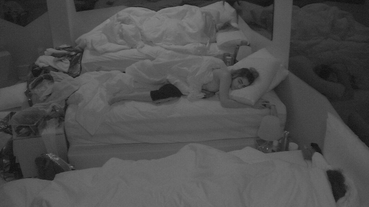 Depois de festa, todos os confinados adormecem no BBB19