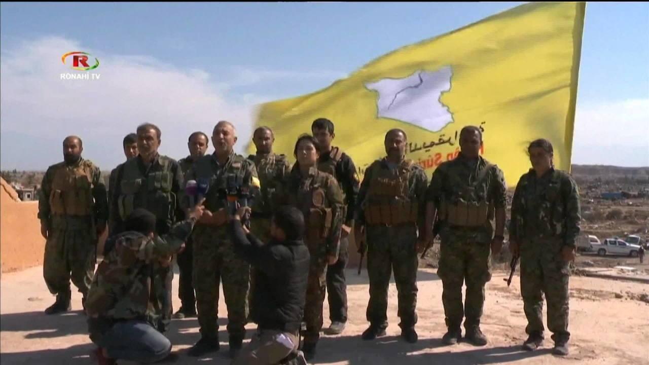 Estado Islâmico é derrotado na Síria