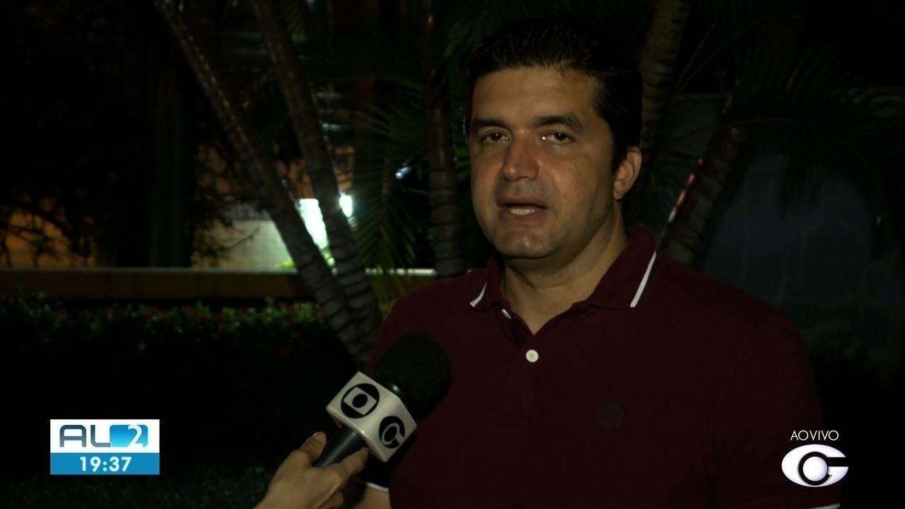 Prefeito Rui Palmeira fala sobre decreto de calamidade para Pinheiro, Mutange e Bebedouro