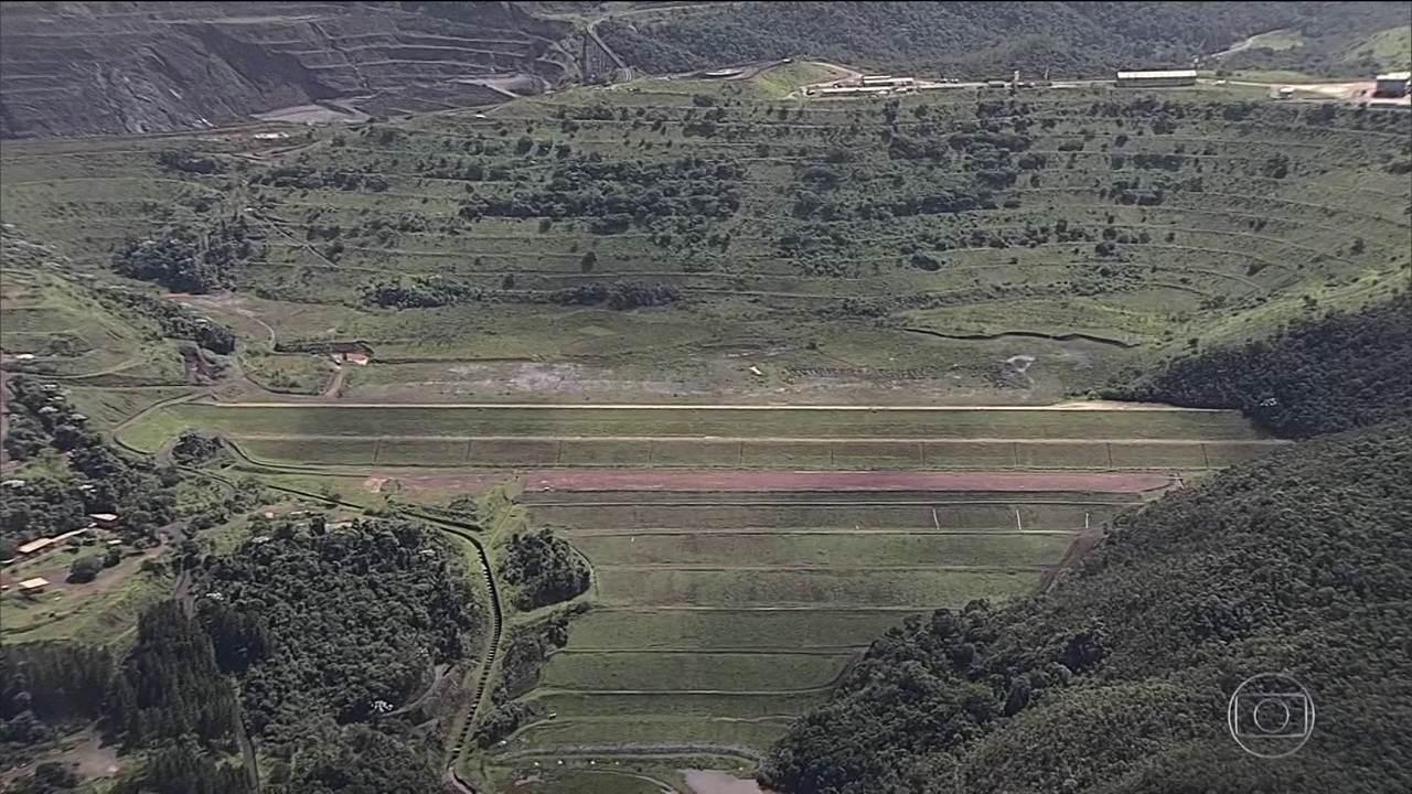 Barragem da Vale em Barão de Bocais (MG) entra em alerta máximo