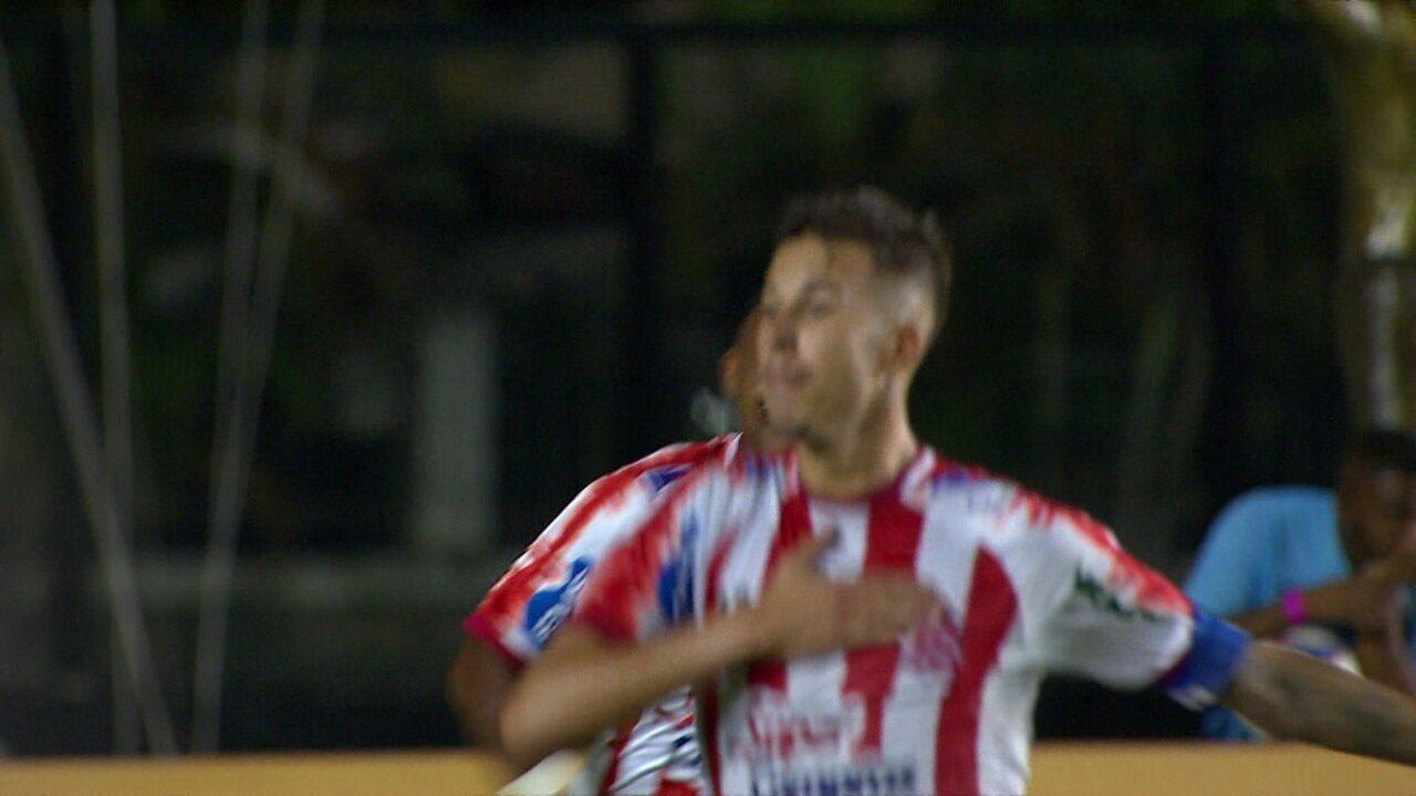 Veja os gols da vitória do Bangu por 2 a 1 sobre o Vasco