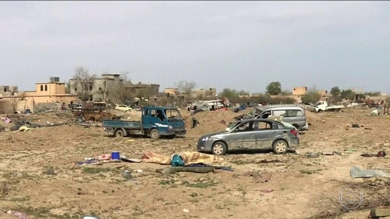 Forças apoiadas por EUA anunciam captura da última área do Estado Islâmico na Síria