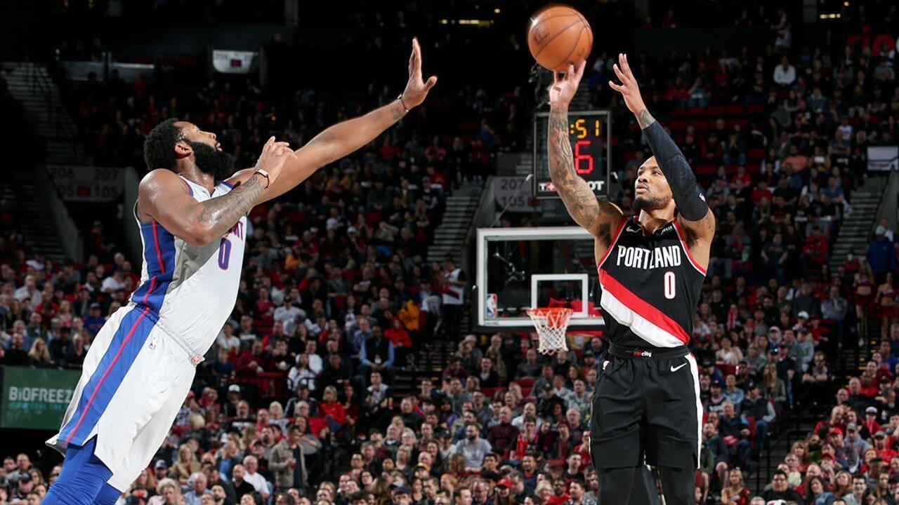 Melhores momentos: Portland Trail Blazers 116 x 112 Detroit Pistons, pela NBA