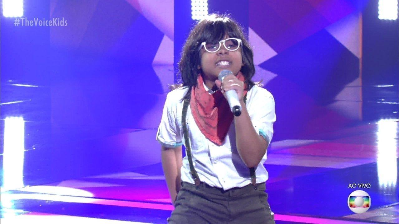 Pedro Miranda 'Uptown Funk' e se classifica para a semifinal do 'The Voice Kids'