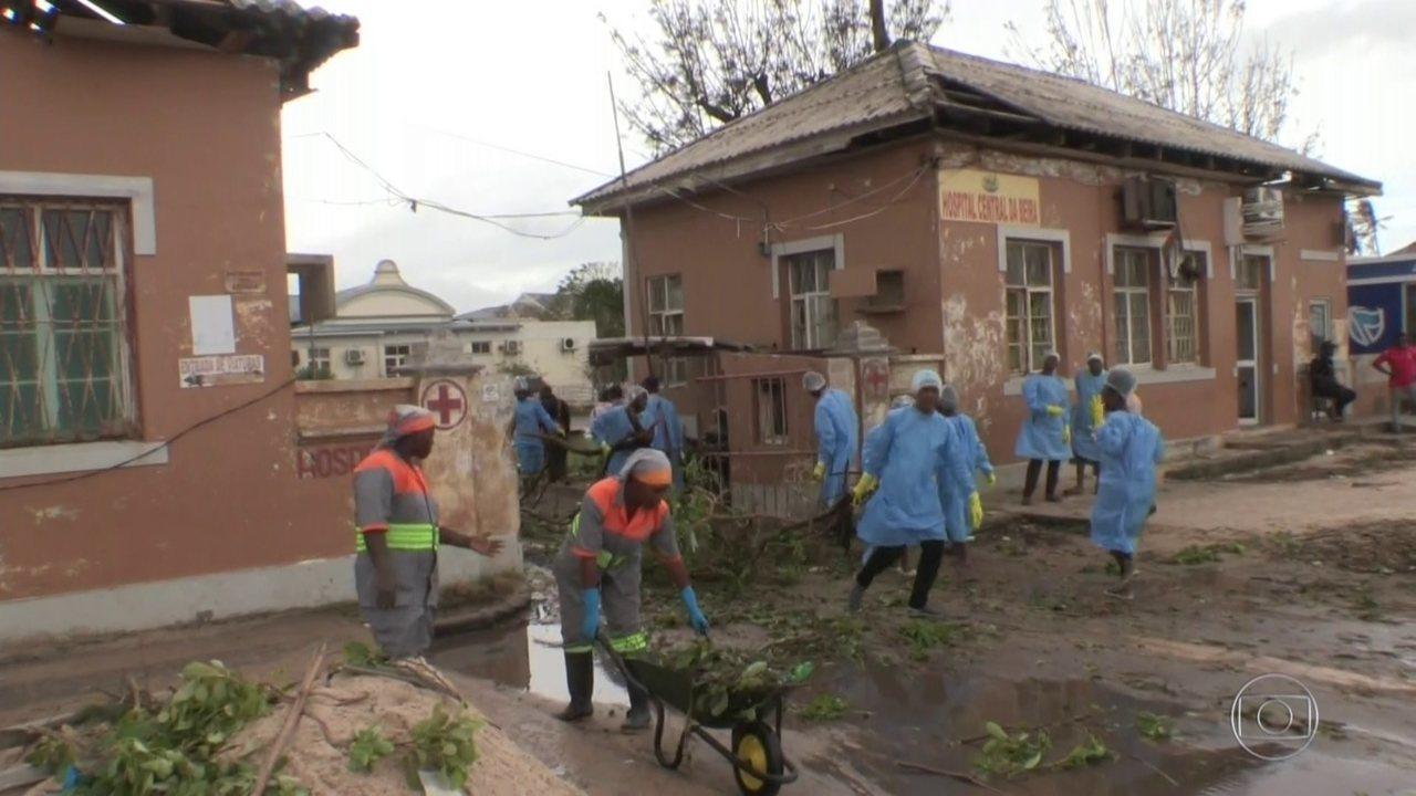 Ciclone em Moçambique deixa centenas de vítimas; veja relatos de brasileiros