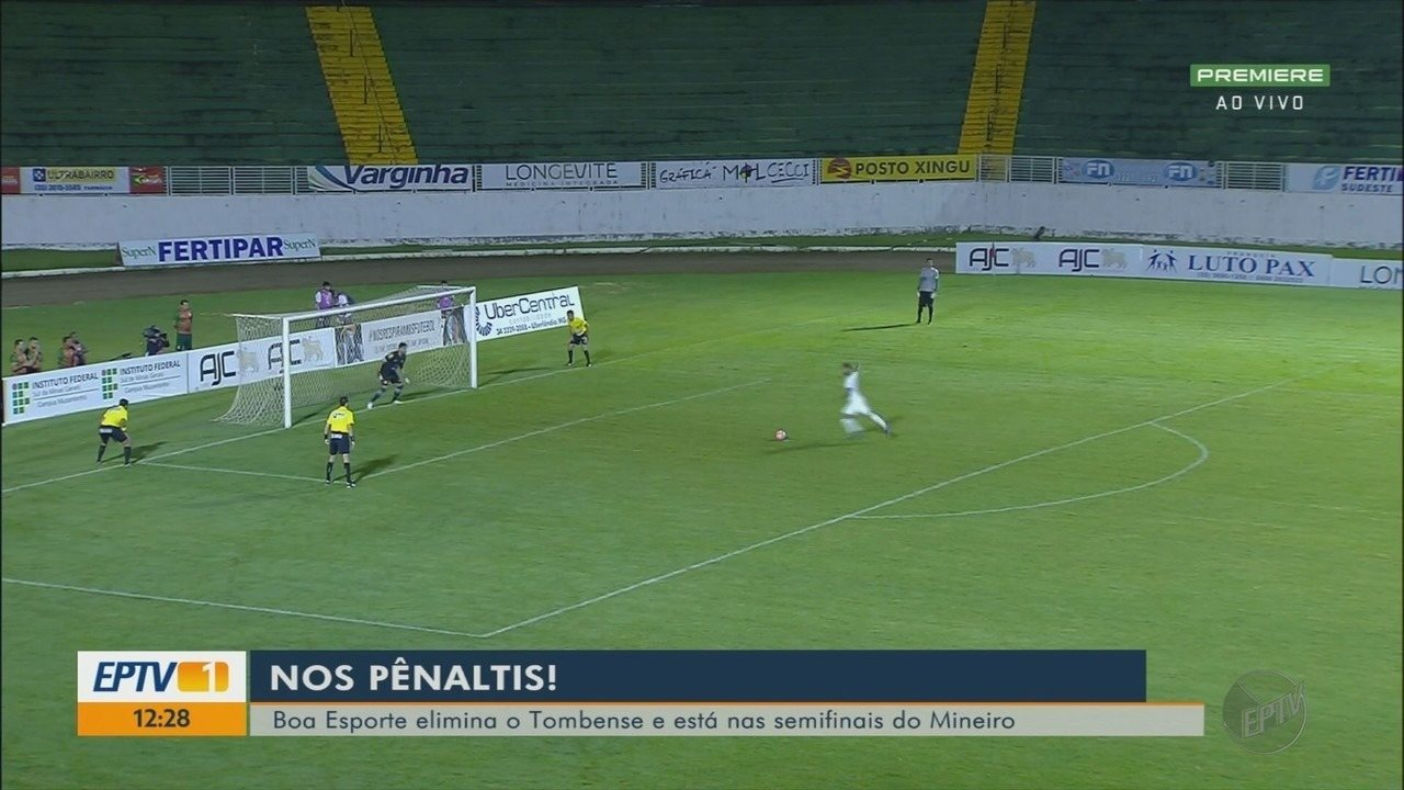 Boa Esporte vence Tombense nos pênaltis e está nas quartas de final do Mineiro