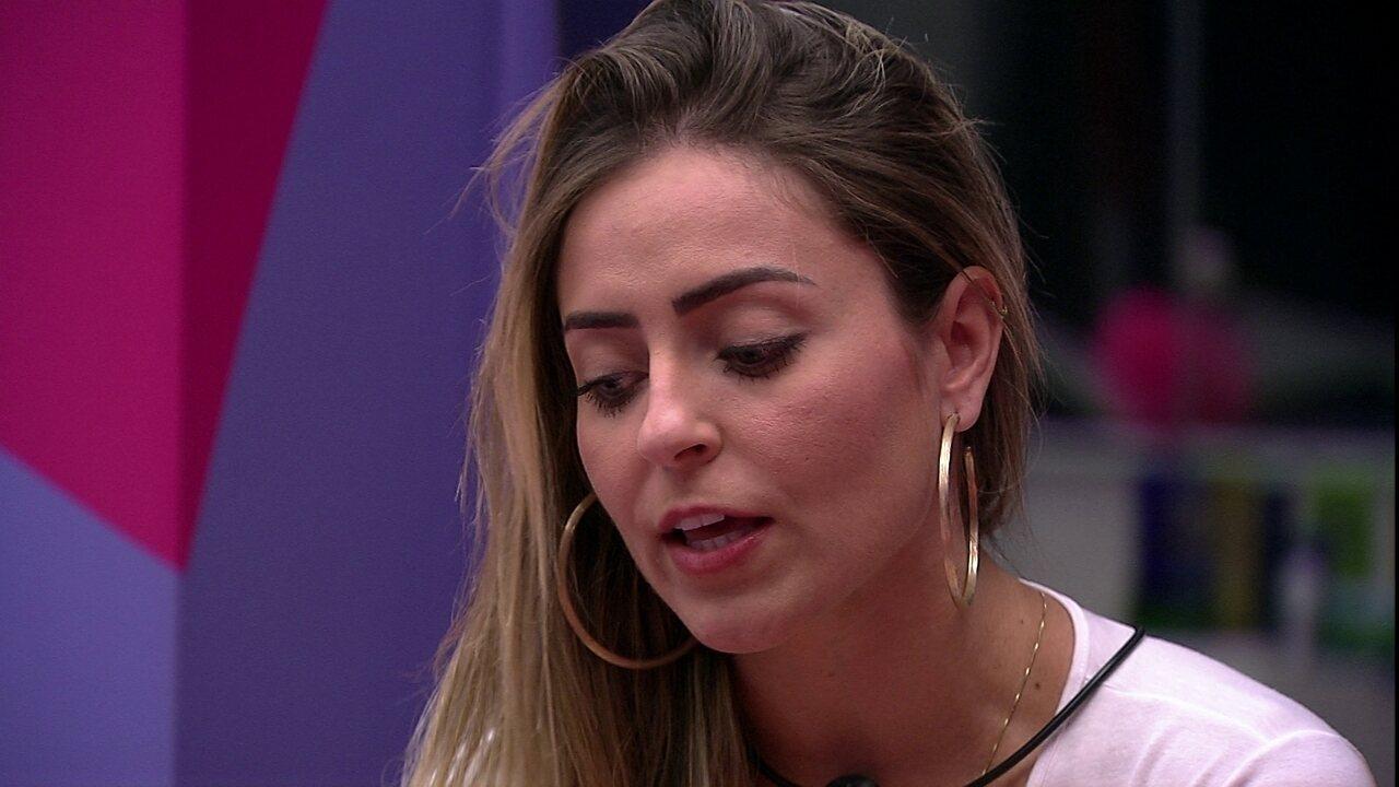 Paula avalia afinidade com Rodrigo: 'Deve me odiar, né?'