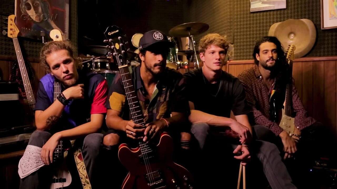 Pedro Novaes mostra ensaio de sua banda Fuze