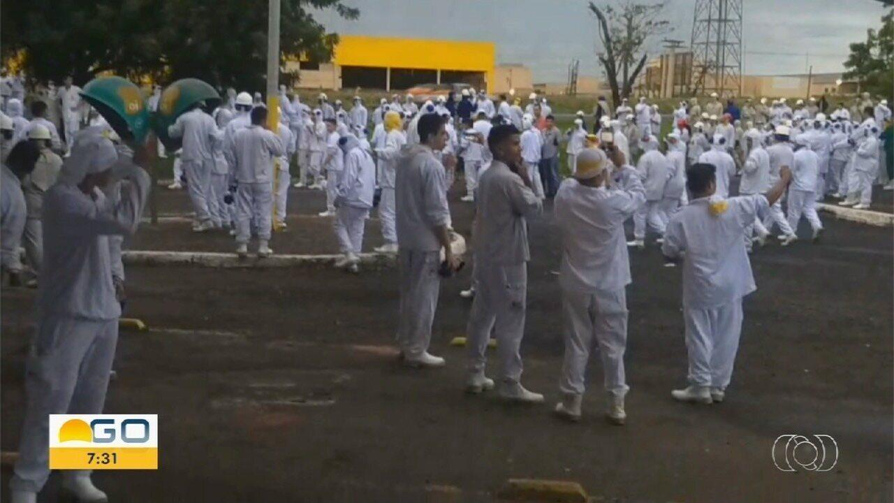 Vazamento de amônia deixa funcionários de indústria da alimentos intoxicados em Rio Verde