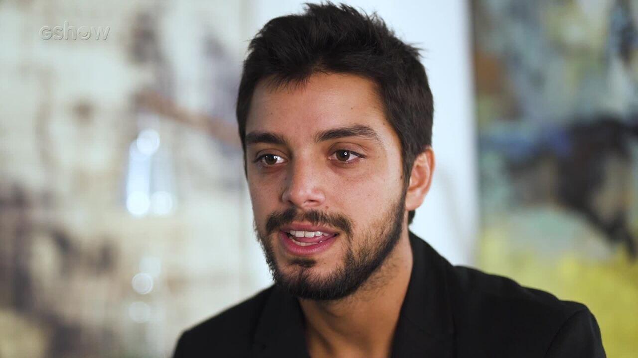 Rodrigo Simas fala sobre Bruno, de Órfãos da Terra
