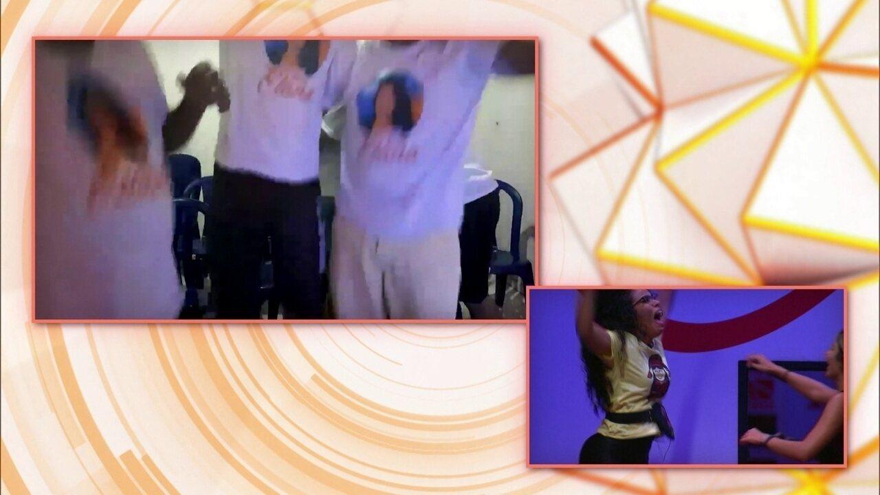 Família de Elana reage à trajetória de sister no programa