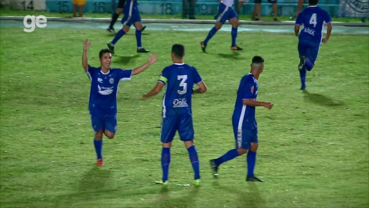 Os gols de Parnahyba 2 x 0 Altos - 10ª rodada do Piauiense 2019