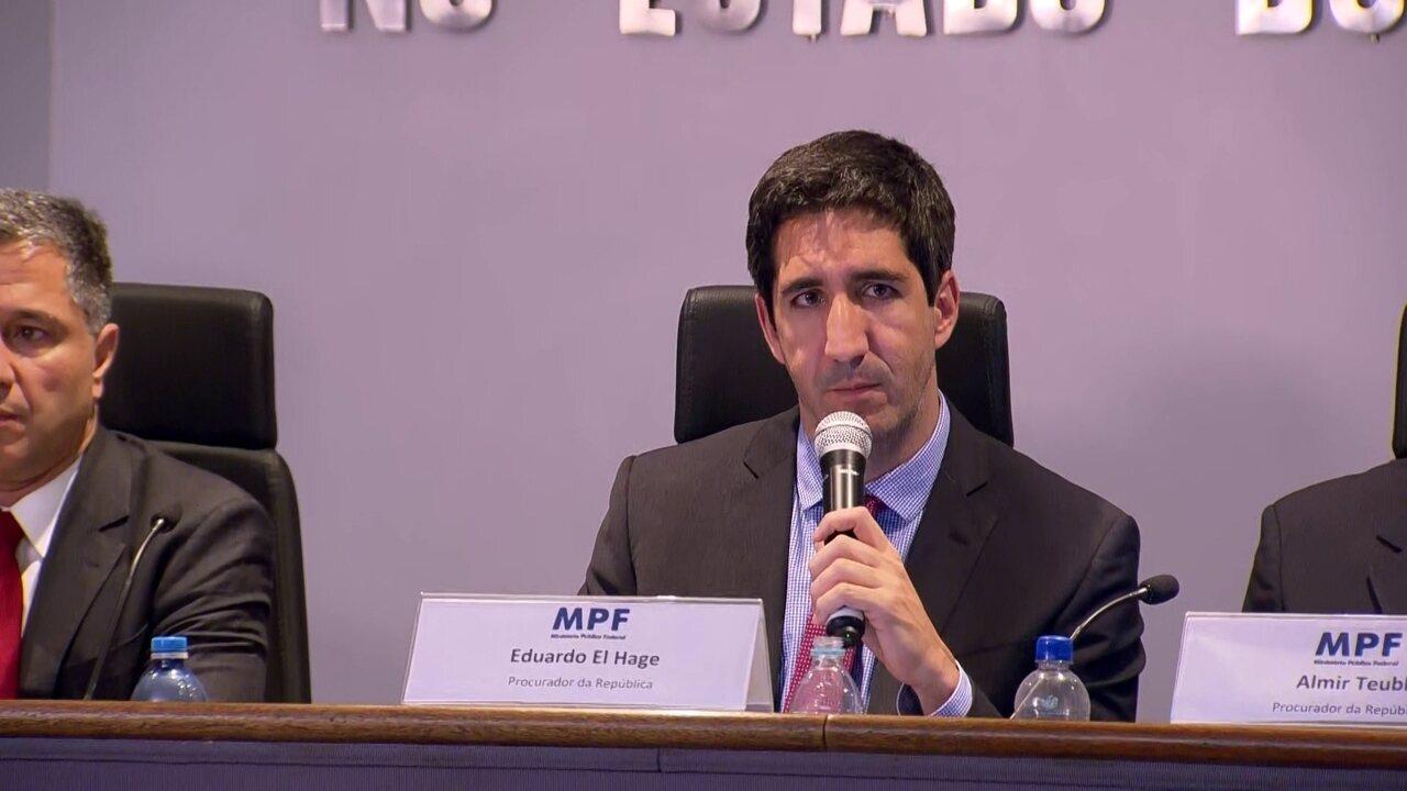 Procurador da República diz que Temer e Moreira Franco se comunicaram no dia da prisão