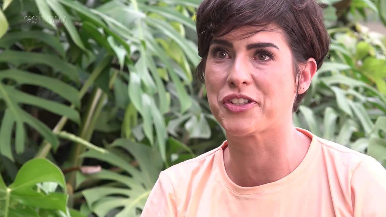 Fernanda Paes Leme mada recado para Sandy e Junior
