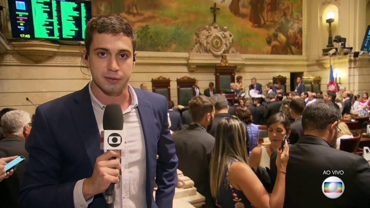 Câmara de Vereadores do Rio aprova pedido de impeachment contra prefeito Marcelo Crivella