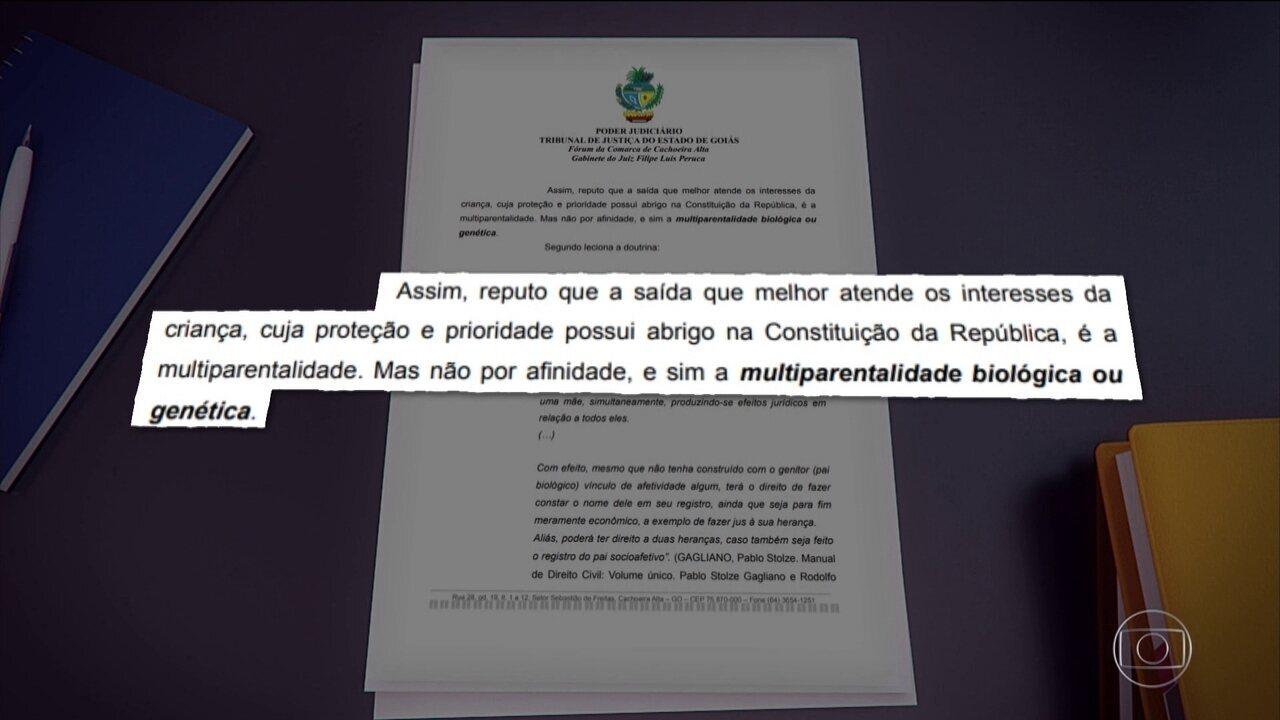 Justiça de Goiás reconhece irmãos gêmeos idênticos como pais da mesma criança