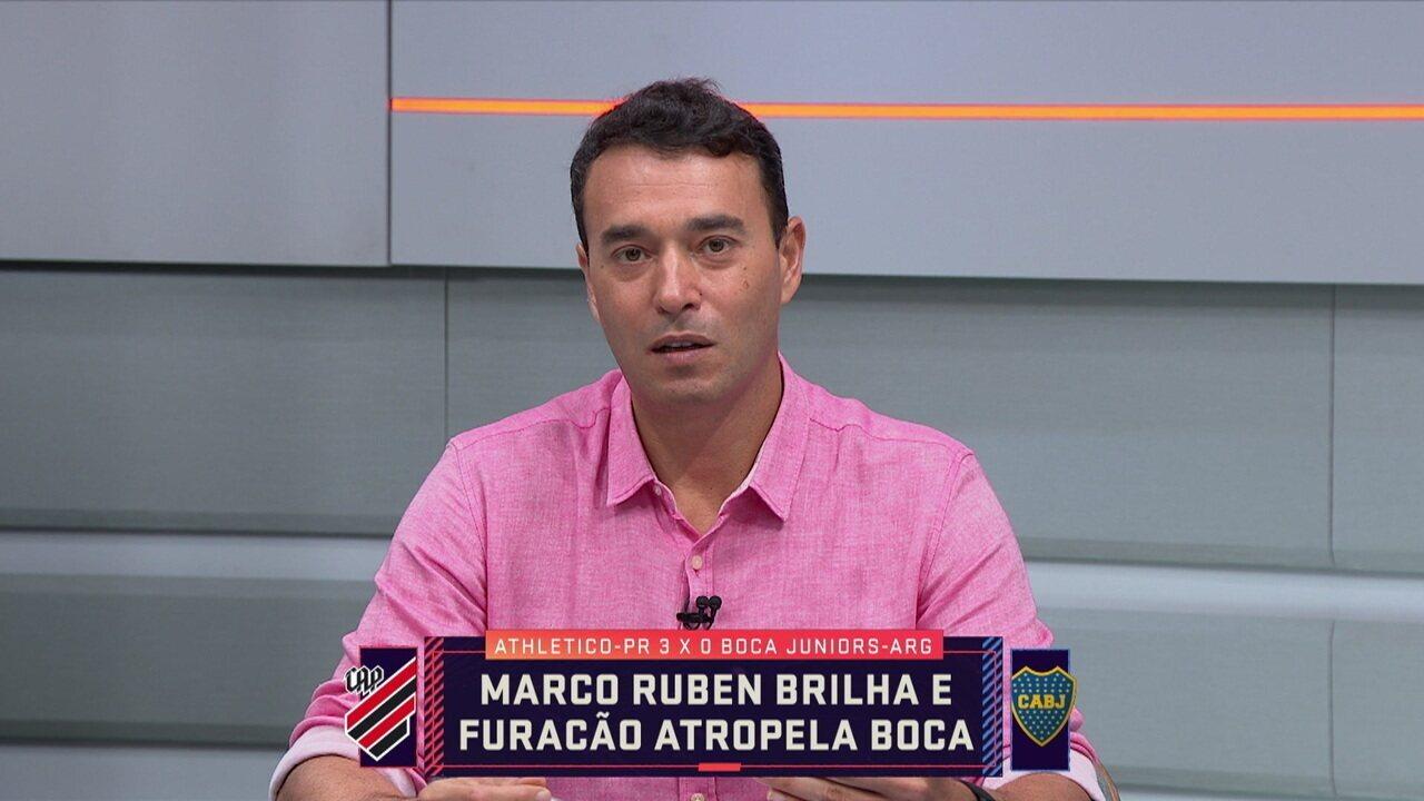 Rizek diz que Bruno, do Athletico, está chamando atenção do Chelsea