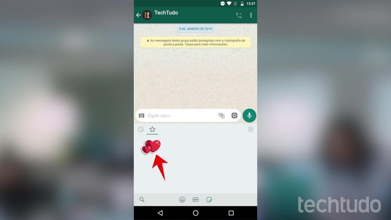 Como salvar figurinhas (stickers) de outras pessoas no WhatsApp